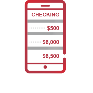Check Accounts on the go