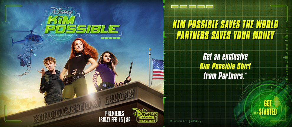 Get a Kim Possible Shirt