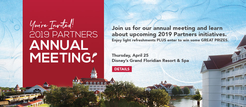 2019 Partners Annual Meeting April, 25 2019