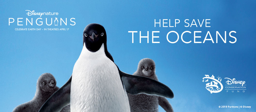 Disneynature Penguins in theaters April 17