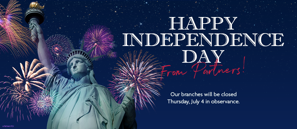 Happy Independence Day from Partners