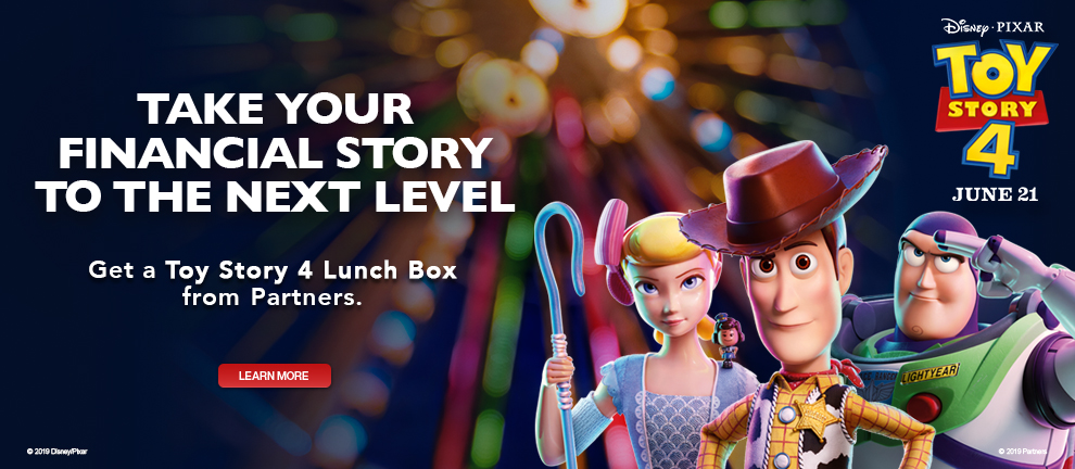 Toy Story 4 Synergy Campaign