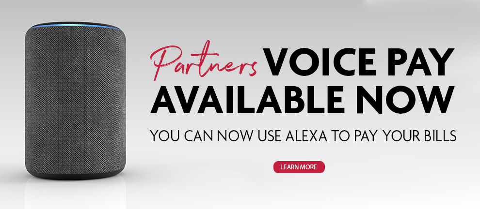 Partners Voice Pay Available Now