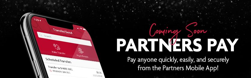 Partners Pay Coming Soon