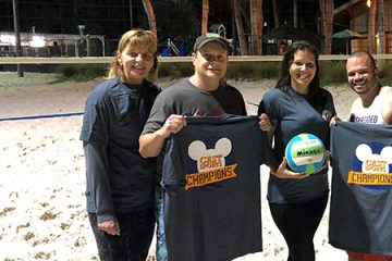 Partners Volleyball Team: CU in the SAND