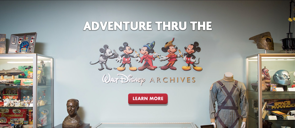 50th Anniversary Walt Disney Archive