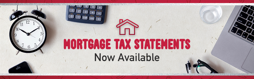 UPDATED Mortgage Tax Statements
