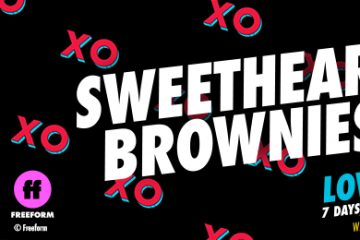 Sweetheart Brownies Blog Banner