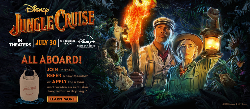 Jungle Cruise Join Refer Apply and receive a dry bag*
