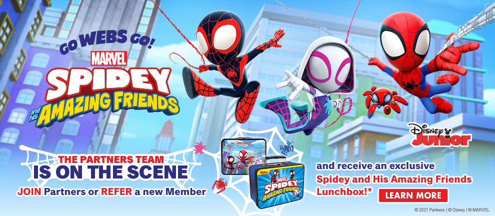Spidey and his amazing friends lunchbox