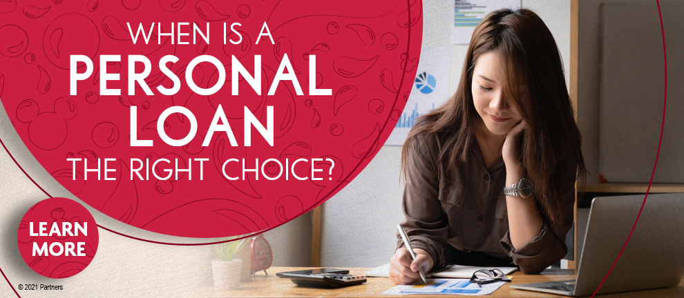 When is a personal loan the right choice