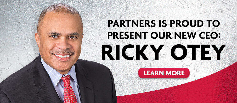 Partners is proud to present our new CEO Ricky Otey - Learn More - phot of Ricky
